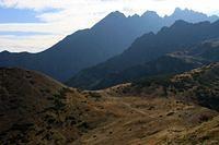 pohlad na kopske sedlo, kozi hreben a lomnicky stit