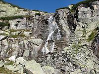 zoom na vodopad skok
