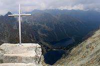 rysy - vrchol, polska strana tatier
