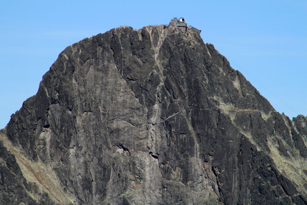 detail na vrchol lomnickeho stitu
