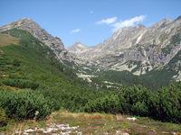 pohlad do Mlynickej doliny, v pozadi Strbsky stit